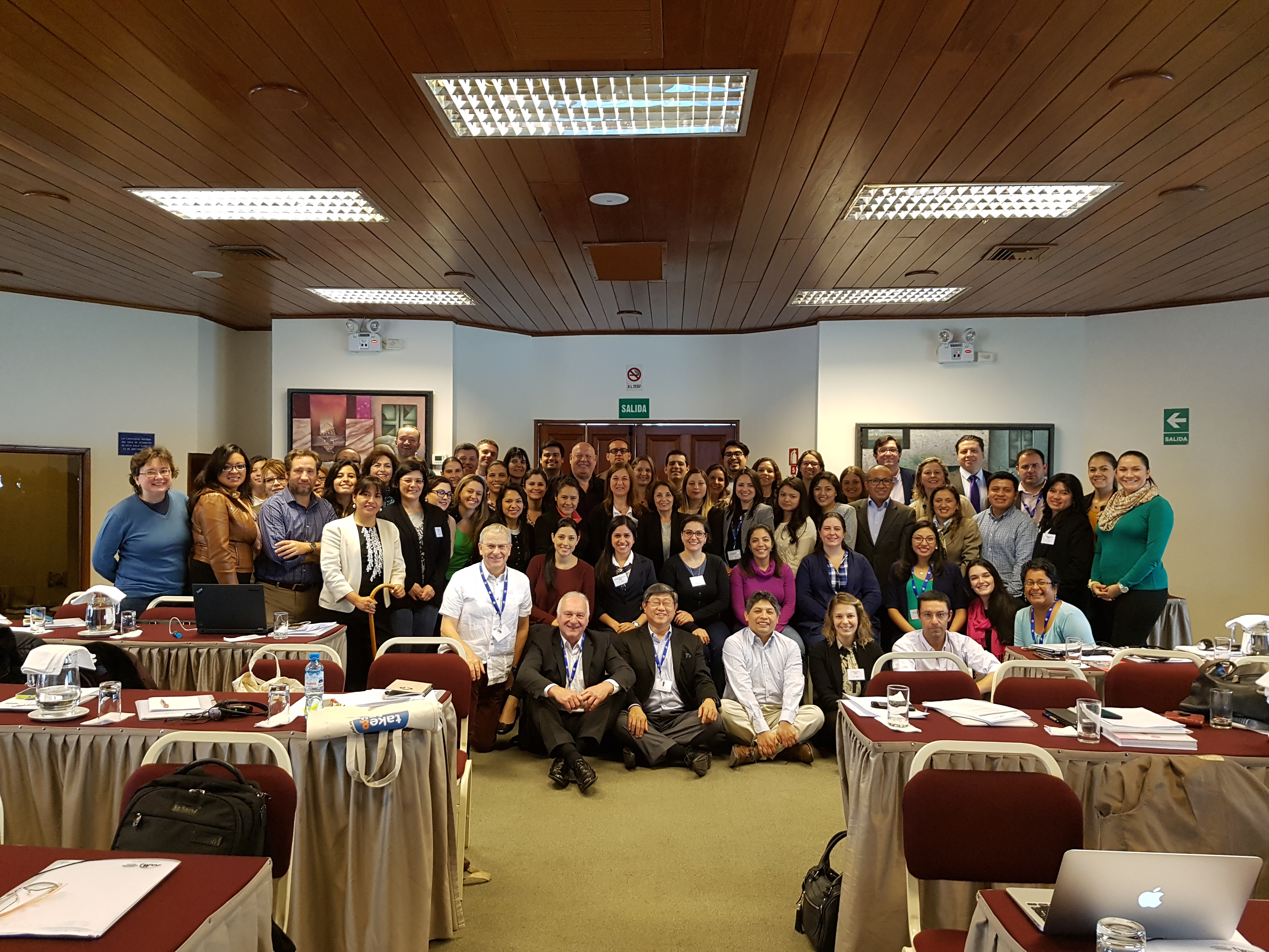 Group photo: Lima, Peru (September 2016)