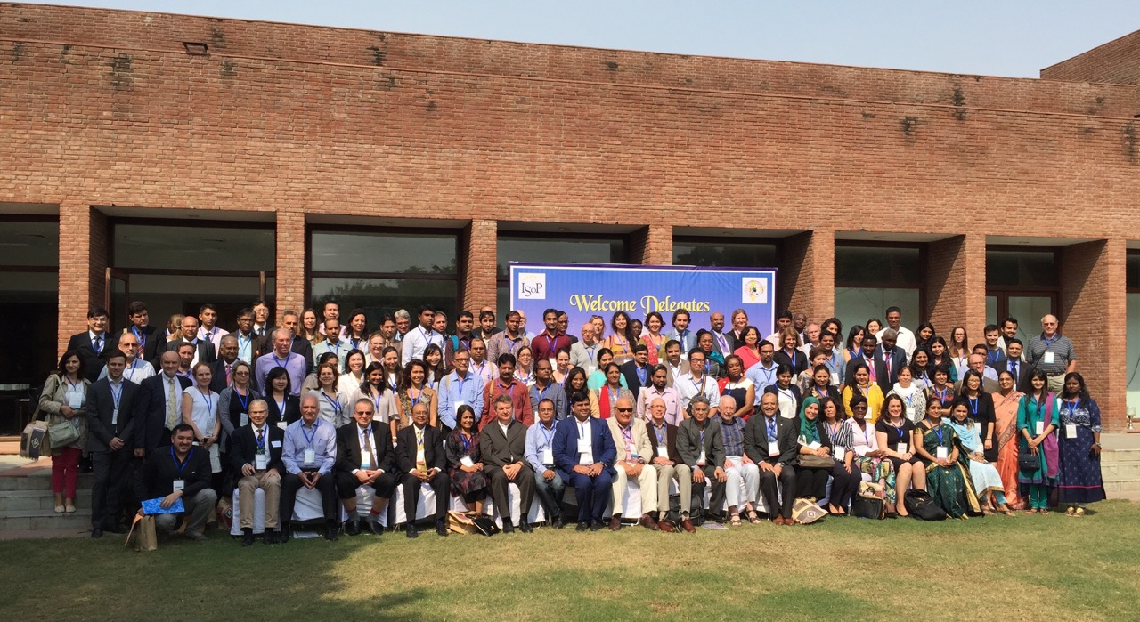 Group photo: ISoP 2016 Agra (October 2016)
